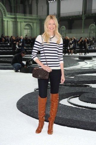 Botas Otoño-Invierno 2010/2011: Claudia Schiffer