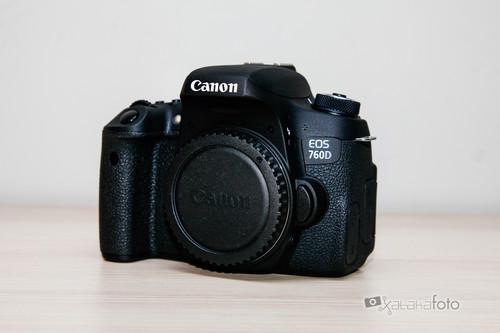 Canon EOS 760D, análisis