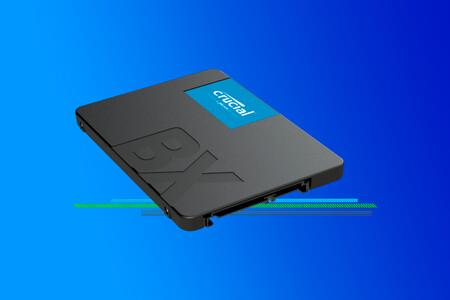 El SSD interno más vendido de Amazon es este Crucial de 240GB: renueva el disco duro de tu ordenador por menos de 25 euros