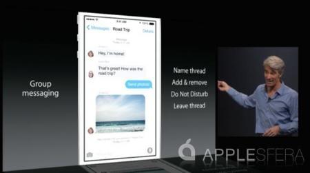 iMessage para iOS