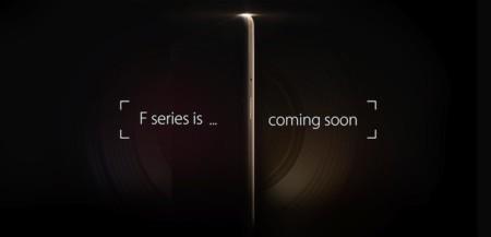 Oppo anuncia la gama F: smartphones de gama media con enfoque en el apartado fotográfico