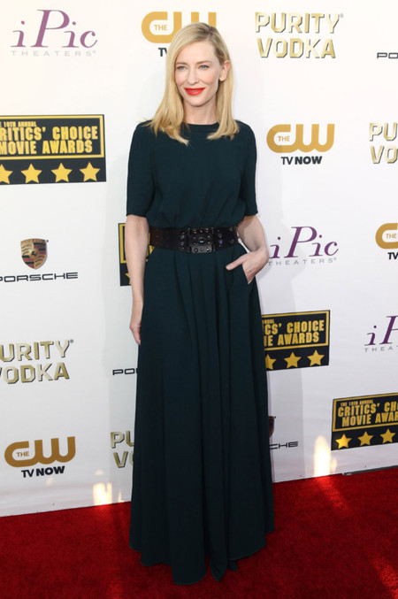 Cate Blanchett Mejores Critics Choice Awards 2014