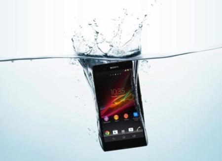 Sony Xperia Z agua