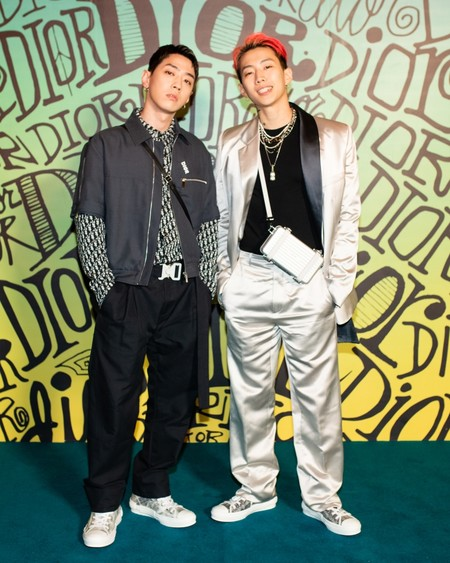 Jay Park Gray Dior Fall 2020 3 12 19