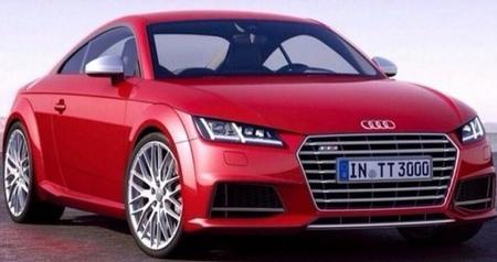 ¡Filtrado! Nuevo Audi TT