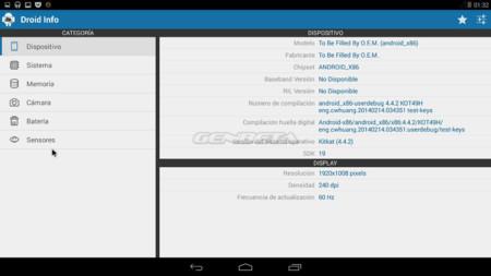 Android-x86 resolución 1920x1080