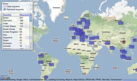 Google presenta una herramienta donde detalla los países con más solicitudes de censura