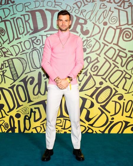 Grigor Dimitrov Dior Fall 2020 3 12 19