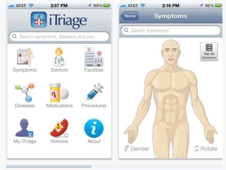 iTriage, ¿un doctor en el iPhone?