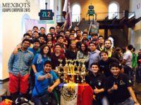 México encabeza el medallero en Concurso  Internacional de Robótica