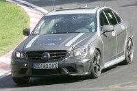 Mercedes-Benz C 63 AMG, fotos espía