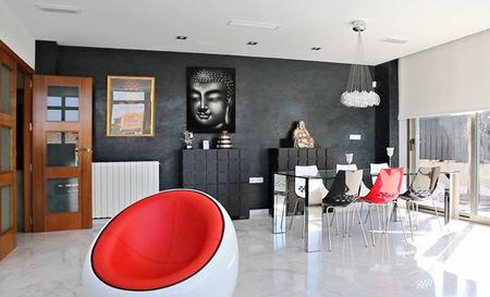 Villa de inspiraci n zen en murcia - Decoracion zen salon ...