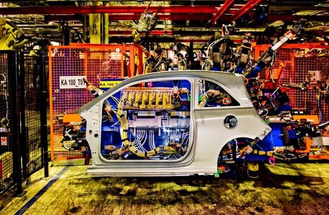 Fabricacion del Opel Adam