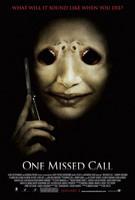 Póster de 'One Missed Call', el remake de 'Llamada Perdida'