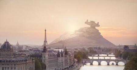 ¿Y si las naves de Star Wars libraran batallas en nuestro planeta?