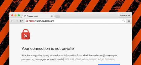"""Chrome marcará como """"no seguras"""" todas las páginas HTTP a partir de julio"""