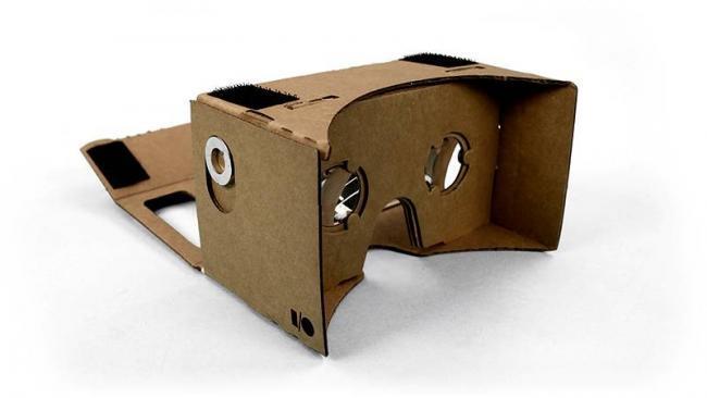 construir cartón de Realidad Virtual