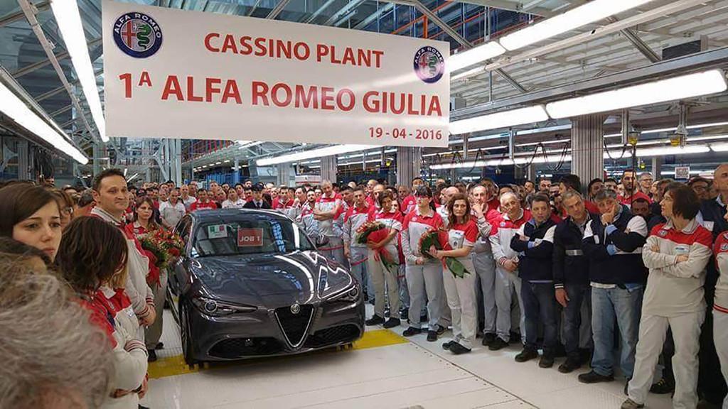 Fábrica Alfa Romeo
