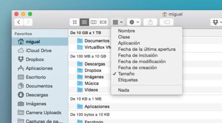Localiza los archivos que ocupan más espacio en tu Mac sin ninguna aplicación de terceros