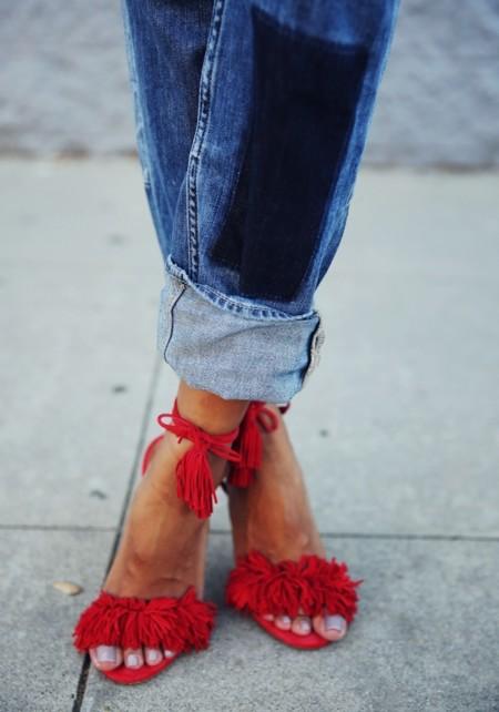Duelo de sandalias: Aquazzura te quiero en mi vida