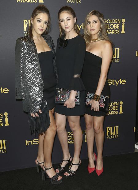 Las hijas de Stallone, las nuevas Miss Golden Globe 2017 de Instyle (y todos los looks de la alfombra roja)