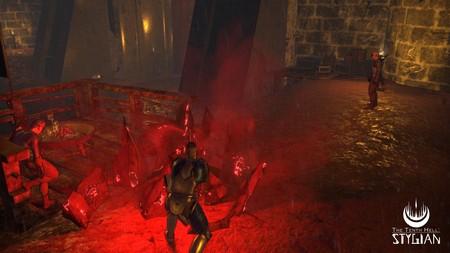 Sangre en The Tenth Hell Stygian