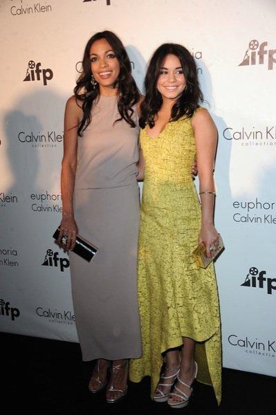Rosario Dawson Vanessa Hudgens Cannes Calvin Klein