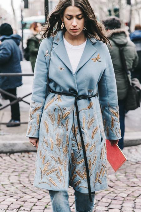 Pfw Paris Fashion Week Fall 2016 Street Style Collage Vintage Miu Miu Amanda Weiner