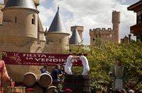 Vendimia en Navarra: visitas a bodegas, pisada de uva y una fuente que mana vino