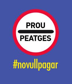 Tras #novullpagar, Cataluña pedirá un fondo de rescate de peajes