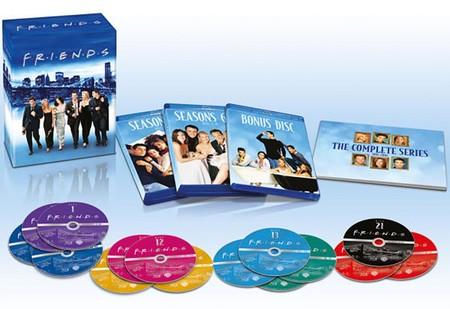 Friends, completa y en BluRay, por sólo 51,29 euros en Zavvi