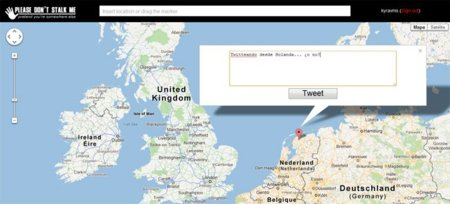 'Please Don't Stalk Me' cambia la geolocalización de tus tweets de manera sencilla