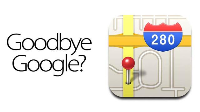 Adiós Google Maps en iOS