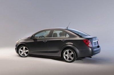 El nuevo Chevrolet Aveo Sedán también va a Ginebra