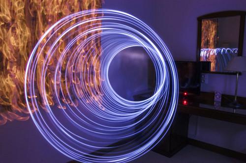 17 fotografías espectaculares que nos muestran qué podemos hacer usando el lightpainting