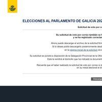 Elecciones de Galicia y País Vasco: cómo pedir el voto por correo a través de la web