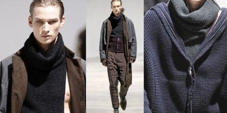 Cuello de punto, la alternativa a la bufanda para este Otoño-Invierno 2010/2011