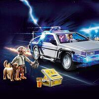 DeLorean de 'Volver al Futuro' versión Playmobil está de nuevo en oferta con Amazon México, incluye figuras y accesorios