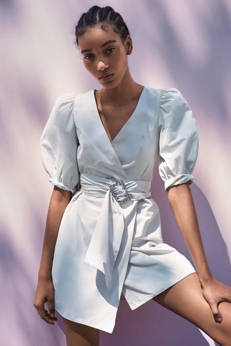 Vestido Blanco Verano 2019 12