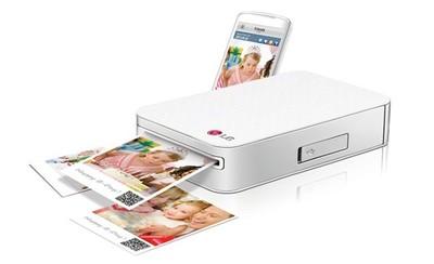 LG Pocker Photo, una impresora muy compacta pensada para dispositivos móviles