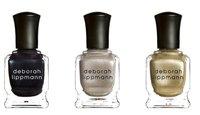 Tres esmaltes metalizados de Deborah Lippmann, la tendencia en manicura Otoño 2011