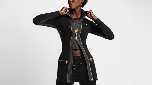 NikeLab x Olivier Rousteing: la fusión de negro y dorado