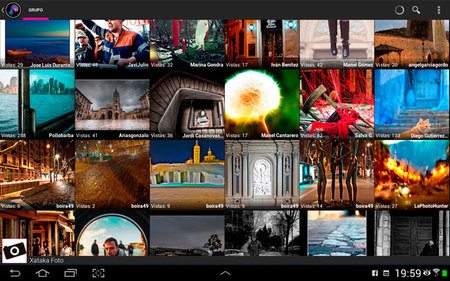 Glimmr para Flickr (Android), análisis