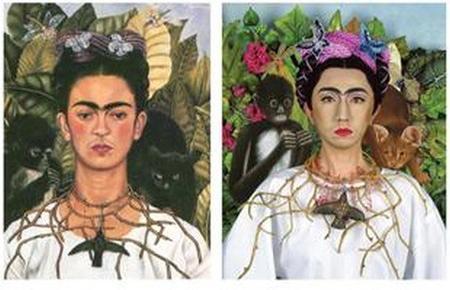 Yajumasa Morimura Frida Kalo