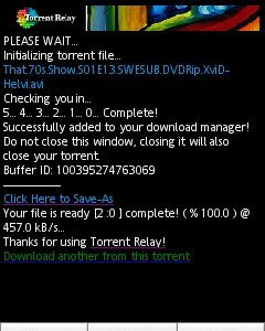 Descarga tus torrents con Torrent Relay
