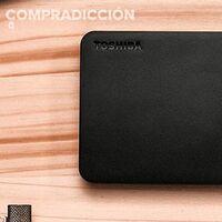Llévate 2 TB para tu portátil por sólo 52 euros con esta oferta de Amazon para el Toshiba Canvio Basics