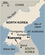 Corea del Norte abre a Corea del Sur una ruta turística
