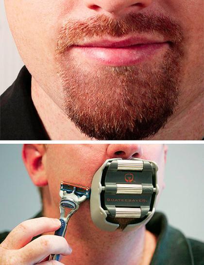 Afeitado especial para perillas