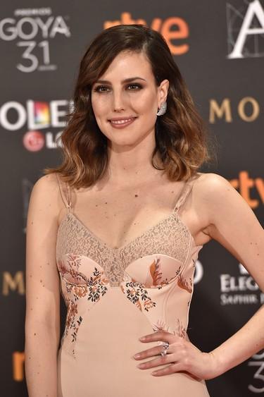El estilo lencero de Natalia de Molina no es apto para la alfombra roja