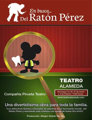 """""""En busca del Ratón Pérez"""", una divertida obra de teatro infantil en Málaga"""